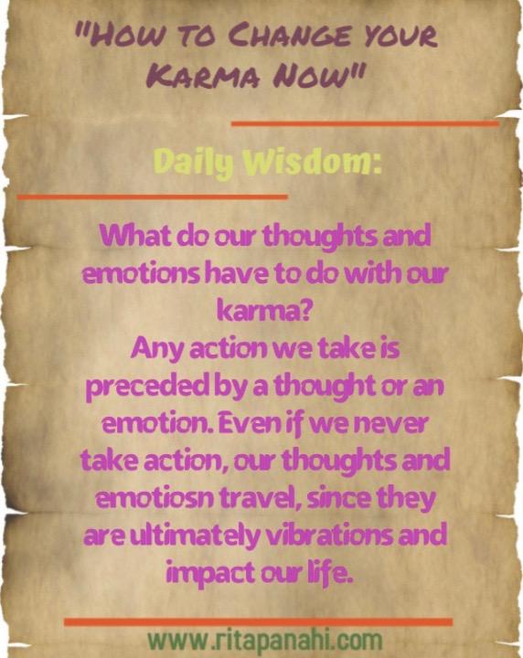 Karma Wisdom
